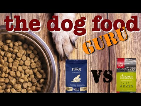 Fromm Vs Orijen Dog Food Mashup