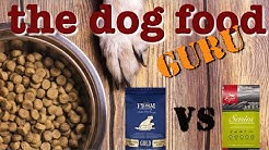 Fromm vs Orijen dog food mashup