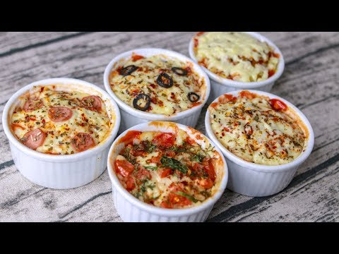 Mug Pizza Recipe | 5 Different Mug Pizza Recipe Without Oven