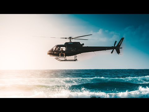 Behind the Scenes 🚁 Jumping off Helicopters