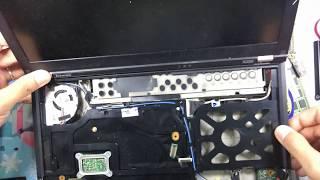 Lắp ráp các thành phần của máy tính laptop Lenovo X220i | Cấu tạo phần cứng máy tính