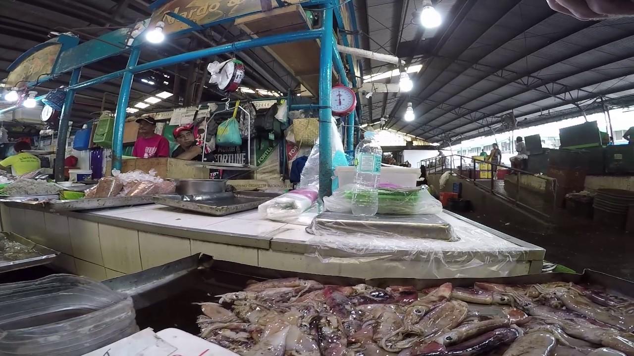 Farmers market cubao quezon city metro manila seafood for Koi pond quezon city