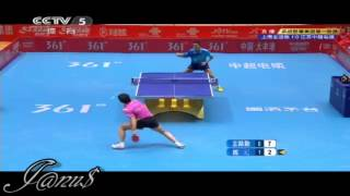 2012 China Super League: WANG Liqin - CHEN Qi [Full Match/Short Form]