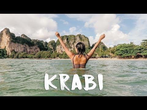 AO NANG, KRABI - Visiting Railay Beach | Thailand Vlog #2 🏝