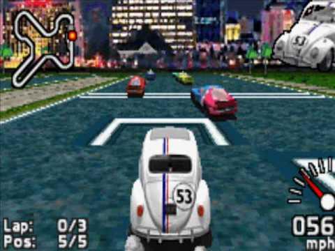 Game Boy Advance - Herbie - Fully Loaded (2005)