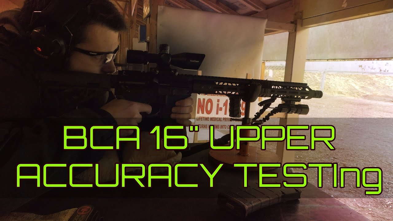 Cheap $180 16 inch BCA Upper Accuracy test - How accurate is a Cheap AR-15  in  223 Wylde