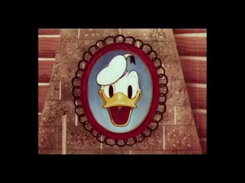 Donald Duck Rugged Bear 1953 Original Rko Les