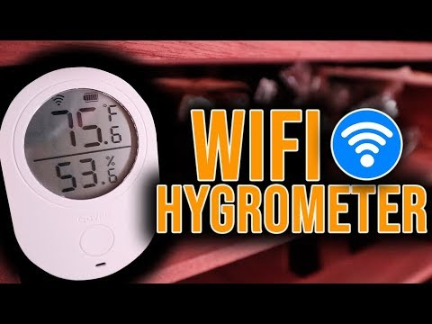 THE WIFI HYGROMETER IS HERE! - Govee Wifi Hygrometer & Thermometer Review