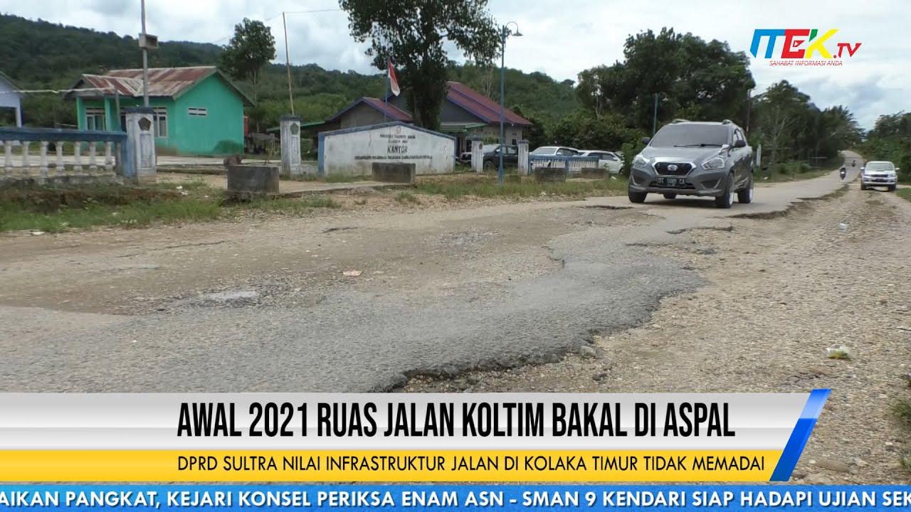 DPRD Sultra Nilai Infrastruktur Jalan di Kolaka Timur Tidak Memadai