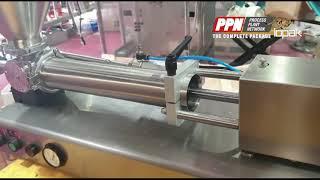 Iopak Rotary Valve Pneumatic Piston Filler Benchtop GCGA 1000 HRP 21238