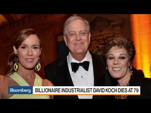 Billionaire Industrialist David Koch Dies at 79