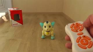 Интерактивная игрушка собака Шустрик на дистанционном управлении
