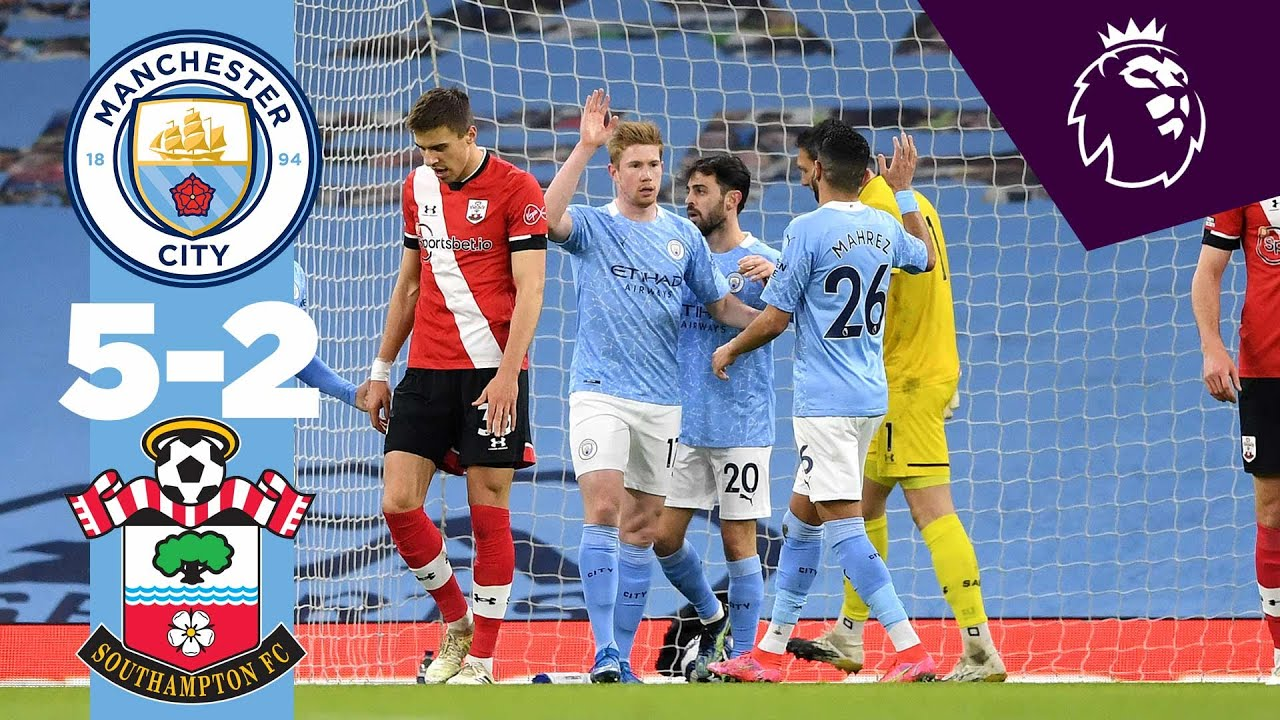 HIGHLIGHTS | MAN CITY 5-2 SOUTHAMPTON