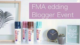 FMA: edding Blogger Event & VERLOSUNG