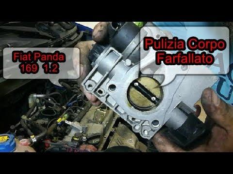 Prodotti Per Pulire Il Corpo Farfallato.Pulizia Corpo Farfallato Fiat Panda 169 1 2 8v Youtube