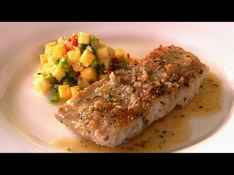 How To Make Coconut Crusted Mahi Mahi: Part 2 - Rhodes Across The Caribbean - BBC Food