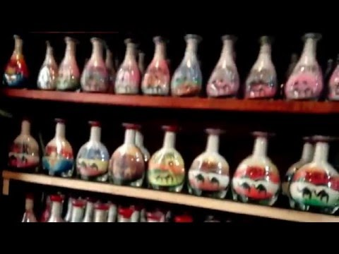 Beautiful souvenir shop in Amman, Jordan