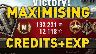 World of Tanks || Maximising Experience and Credits