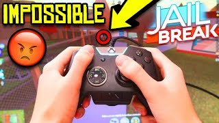 Pc Player First Time Playing Xbox Roblox Jailbreak Youtube Playing Jailbreak With Xbox Controller Impossible Challenge Roblox Jailbreak Youtube