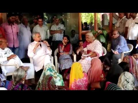 Protest at Narmada Control Authority(NCA)