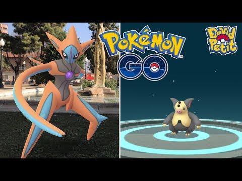 DOBLE DEOXYS FORMA ATAQUE MÁS EVOLUCIÓN SHINY! [Pokémon GO-davidpetit] thumbnail