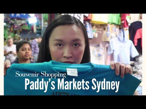 SOUVENIR SHOPPING AT SYDNEY PADDY'S MARKET | The Love Vlog Episode 40