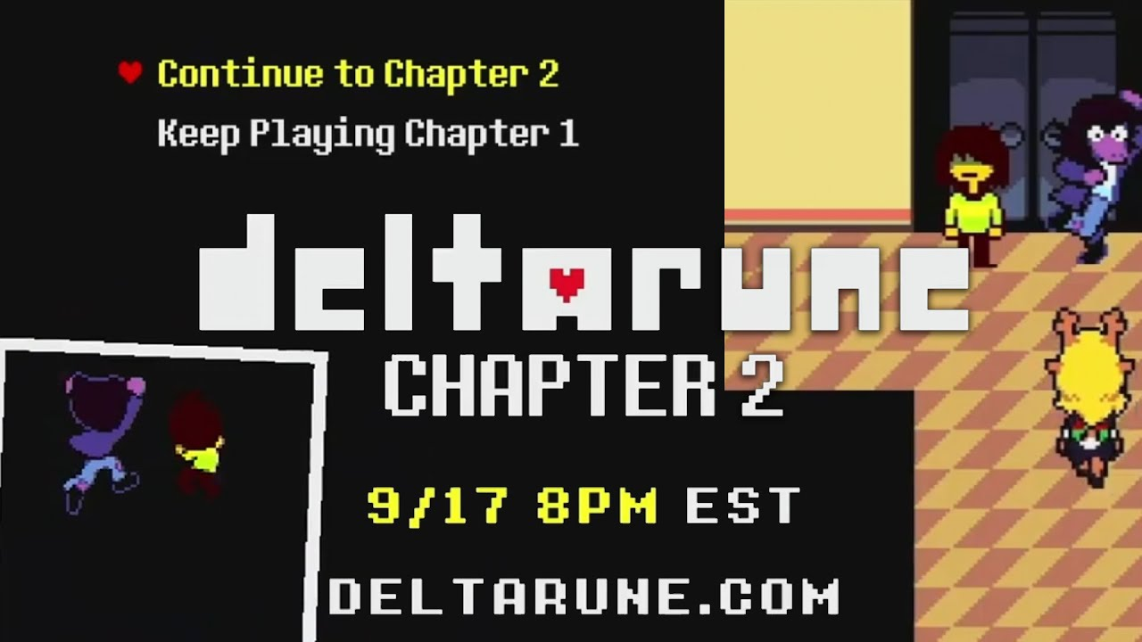 Toby Fox: Deltarune Chapter 2 Is Free Because It's Been 'Really ...