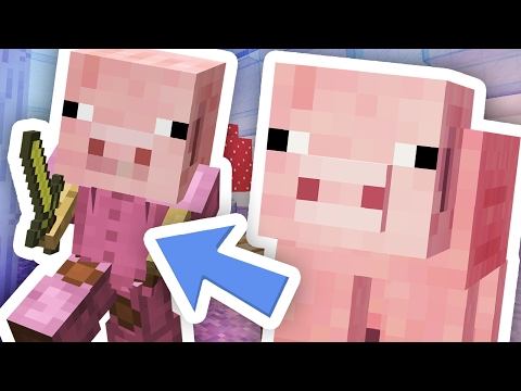 Thumbnail: BEST MINECRAFT PIG DISGUISE!!!