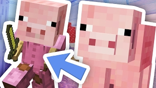 BEST MINECRAFT PIG DISGUISE!!!
