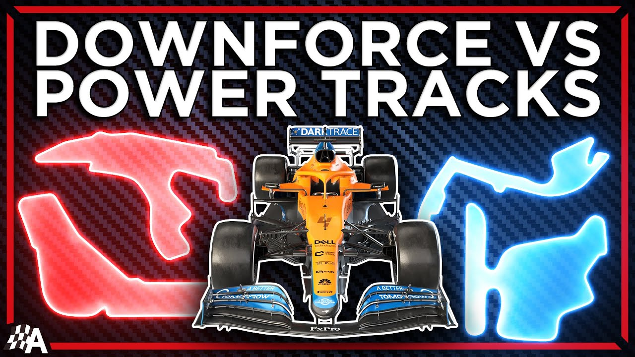 The Difference Between F1's High Downforce And Power Tracks