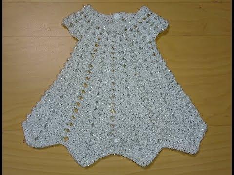 платье снежинка крючком вязание крючком Youtube