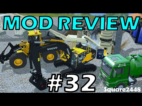 Farming Simulator 17 Mod Review #32 - Mining Map & Equipment