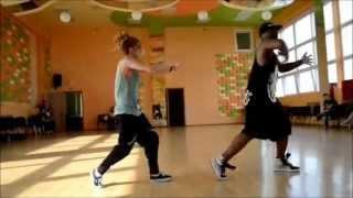 coreografía Chachi Gonzales & brandon  (cámara rapida & lenta )