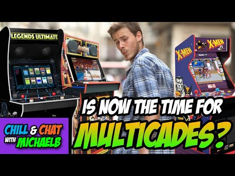 Arcade1Up Angry Fan Base - Is now the time for Multicades? from MichaelBtheGameGenie