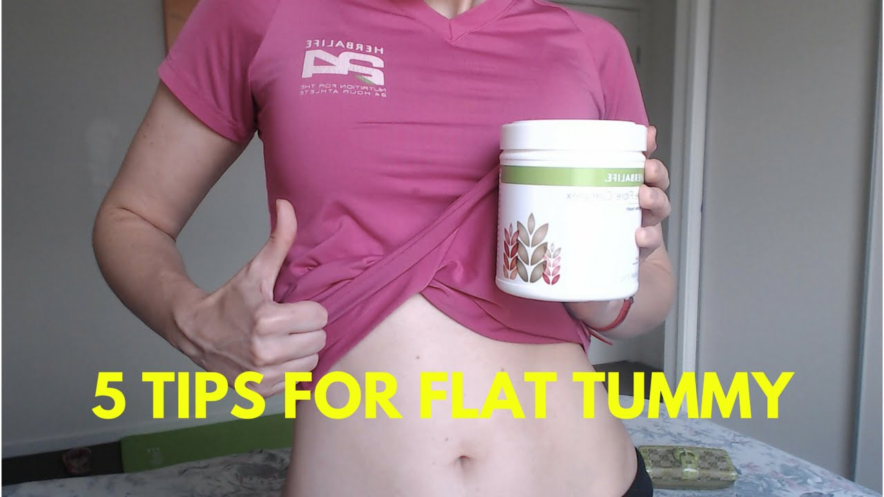 Does herbalife tea burn belly fat