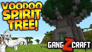 "GangZcraft Modded Minecraft Ep05 - ""UNDEAD ARMY & VOODOO TREES!!!"" - Minecraft Modpack Let"