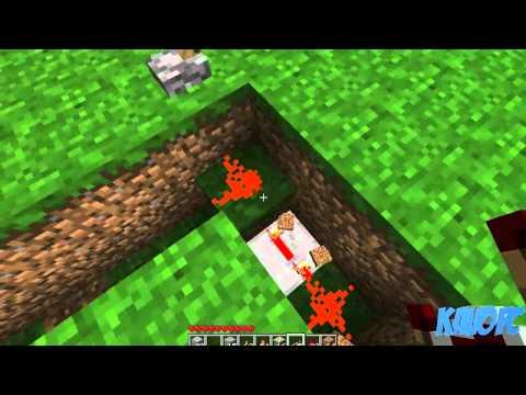 Come Fare Un Letto Su Minecraft : Come fare una porta segreta. minecraft pe. funnydog.tv