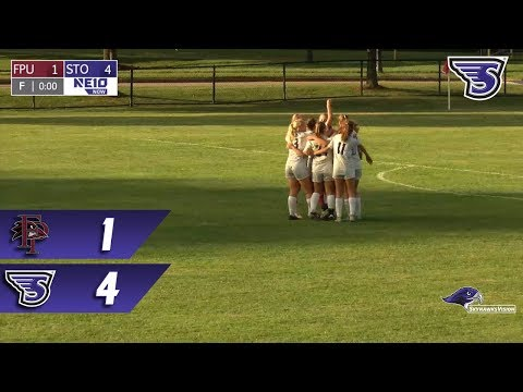 Stonehill Women's Soccer Highlights and Post-Game Interviews vs Franklin Pierce