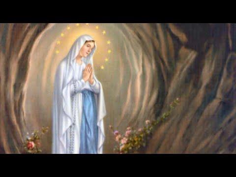 Coroncina Alla Madonna Di Lourdes Youtube