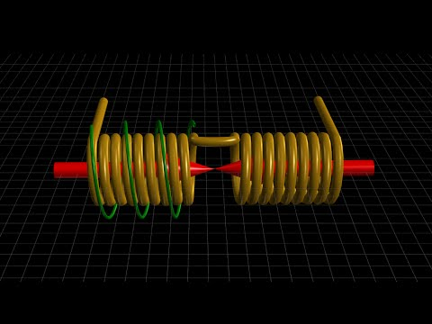Opposing Magnetic Field Interactions - Partnered Output Coils