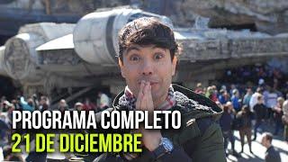 Cinescape 21 de diciembre (programa completo)