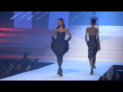 Gigi Hadid, Bella Hadid, Karlie Kloss and more on the runway for the Gaultier Paris Fashion Show 3