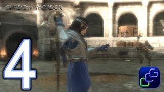 Middle Earth Shadow of War PC 2K Walkthrough - Part 4 - Captain Battles, Quest: Raith