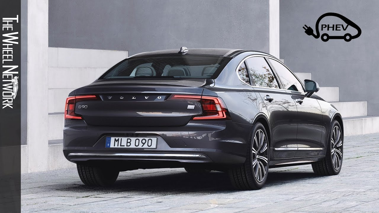 the new volvo s90 recharge t8 awd plugin hybrid 2020