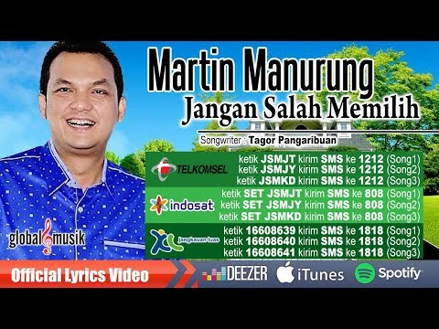 Martin Manurung - Jangan Salah Memilih ( Official Lyric Video)