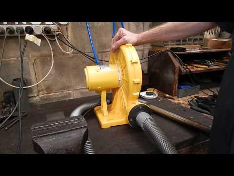 Making a Forge Blower from a Car Fan | FunnyDog.TV