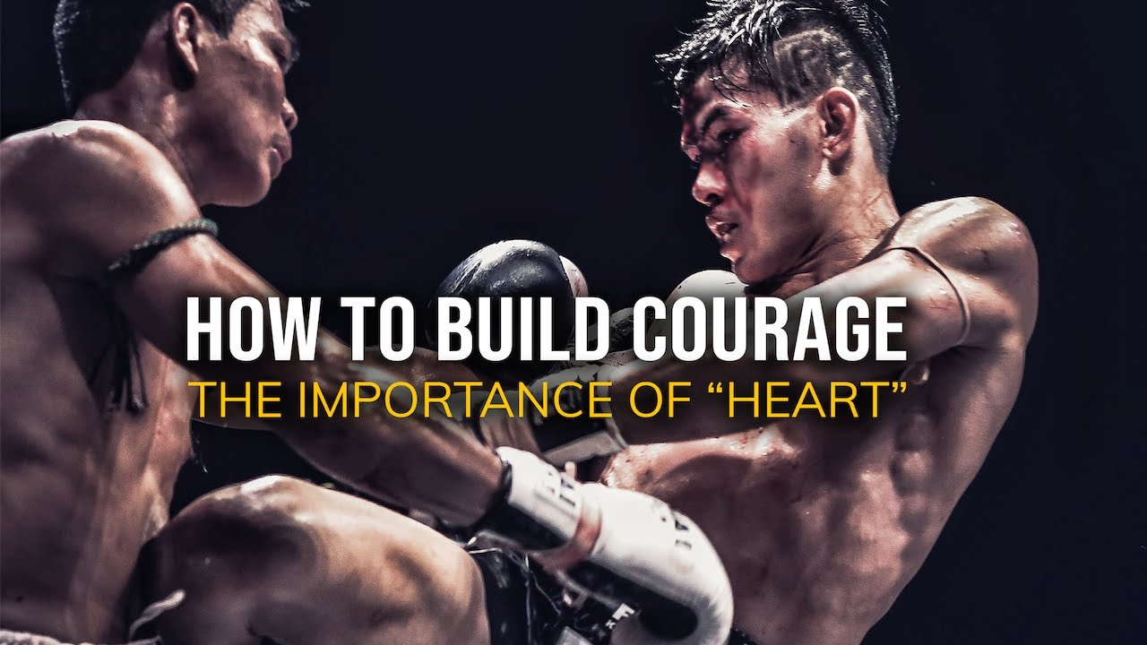 Download The Fighter's Heart: How to Build Courage?