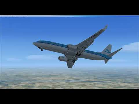 FSX: Vienna to Schiphol with a 737-800