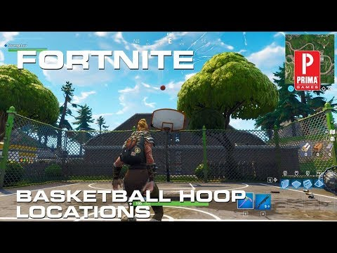 Fortnite Basketball Court Locations - All Basketball Hoops