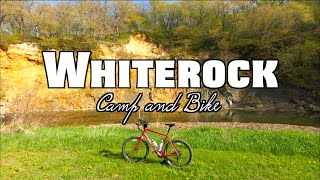 Iowa Camping and Biking: Whitęrock Conservancy (Salsa Journeyman gravel, single and double track)